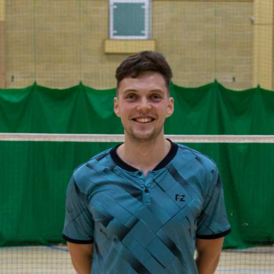 badminton club sussex - one of our coaches, David King