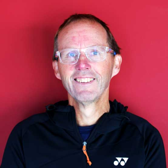 badminton club sussex - our manager, Mark Russ
